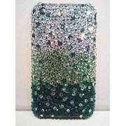 Cover Swarovski Green IPHONE