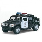 Jain Gift Gallery 5 Inch Diecast Metal Official Licenced 2005 Hummer H2 SUT Car (Black)