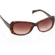 Revlon Rectangular Sunglasses(Brown)