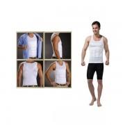 Slim N Lift férfi karcsúsító fehér trikó L - Fehér