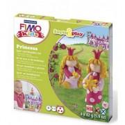 Rayher hobby materialen Fimo kids klei hobby pakket prinsessen