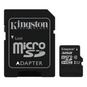 Kingston microSDHC Canvas Select 80R CL10 UHS-I Card+SD, 32GB