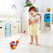 Jucarie Eco Lilly Musical Push Along, Hape