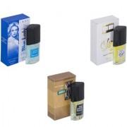 Skyedventures Set of 3 Blue Lady-Silent Love-The Boss Perfume