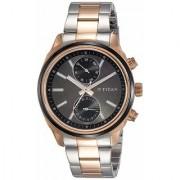 Titan Neo Analog Silver Dial Men's Watch -1733KM03
