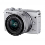 Canon M100 24.2MP + 15-45mm EF-M IS STM Branca