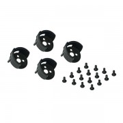 4 PCS KINGKONG/LDARC Universal Motor Mount Cover Protection with Landing Gear for 11 Series Motors RC Drone