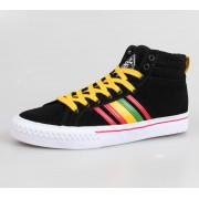 magasszárú cipő férfi - IRON FIST - Black