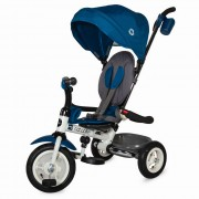 Tricicleta pliabila cu roti gonflabile Coccolle Urbio Air Blue