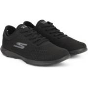 Skechers GO WALK LITE - IMPULSE Walking Shoes For Women(Black)
