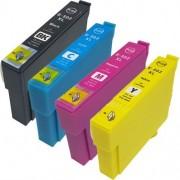 Set 4 cartuse compatibile Epson 502 XL C13T02W64010