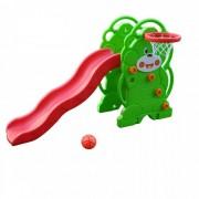 QiaoQiao Горка QiaoQiao Мишка с баскетбольным кольцом