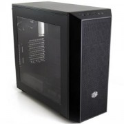 Кутия Cooler Master MasterBox 5 - Black with MeshFlow Front Panel CM-CASE-MCX-B5S1-KWNN-11