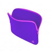 Be.ez LA Robe Sunset Case - качествен неопренов калъф за MacBook 12 (лилав)