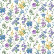 Tapet cu Flori Albastre Daphne - Holden