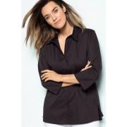 Sara Poplin Shirt - Black