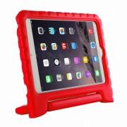 Javu - iPad Mini 4 Hoes - Kids Cover Worker voor Kinderen Rood
