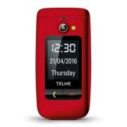 """TELME X200 6,1 cm (2.4"""") 90 g Rosso Telefono di livello base"""