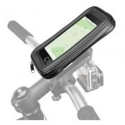 Suport bicicleta Scosche HandleIt Pro™ 2 in 1, pentru telefoane si camere de actiune (Negru)