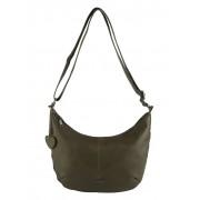 Taschenherz Henkeltasche, Damen, grün, mit Reißverschluss zum Vergrößern