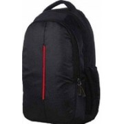 AesA Red Line 15.6 inch Laptop Backpack |Office Bag|School Bag |College Bag |Business Bag | Unisex Travel Backpack Laptop Bag for Women and Men | Backpacks for Girls Boys Stylish | 20 L Laptop Backpack(Black)