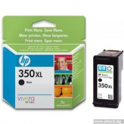 HP 350XL High Yield Black Original Inkjet Print Cartridge (CB336EE)