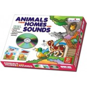 Creative Educational Aids Animals Their Homes and Sounds (CD)