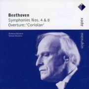 L Van Beethoven - Symphonies No.4&8 (0825646045426) (1 CD)