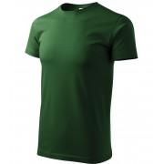 ADLER Basic Unisex triko 12906 lahvově zelená L