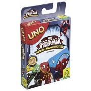 Mattell UNO Card Game Pack of 2 (Mattel Uno Spiderman)
