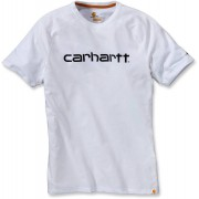 Carhartt Force Cotton Delmont Graphic T-Shirt Vit 2XL