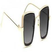 GAINX Retro Square Sunglasses(Grey)