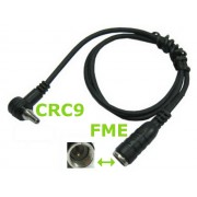 NTR CAB58 FME dugó - CRC9 dugó kábel 45cm
