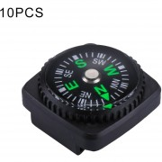 10 Pcs 20mm Deportes Outdoor Camping Senderismo Guider Plastic Compass Pointer Excursionista De Navegacion, Color Al Azar Entrega