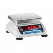 Balance poids-prix - Homologuée - 3 kg / 1 g - 6 kg / 2 g - LED