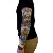 Tetovací rukáv - Kraken
