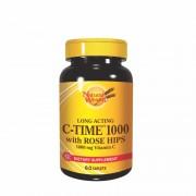 Natural Wealth C-Time 1000 sa vremenskim otpuštanjem 60 tableta