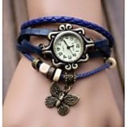 fast selling Women Leather Vintage BRACELET WATCH Latest Fashion WOMEN WATCHES
