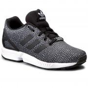 Обувки adidas - Zx Flux J BY9828 Cblack/Cblack/Ftwwht