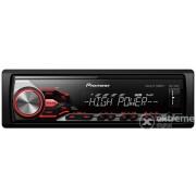 Pioneer MVH-280FD USB auto hifi upravljačka jedinica, crna/crvena