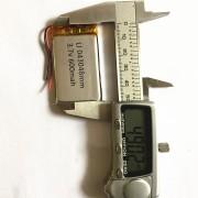 403048 - Acumulator Li-Polymer - 3,7 V - 600mah - 30x48x4 mm