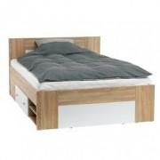 JYSK Bedframe FAVRBO 160x200 eiken/wit