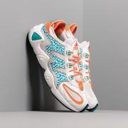 adidas FYW S-97 Crystal White/ Hi-Res Aqua/ Semi Core Orange