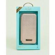 Kate Spade - Roséguldfärgat mobilskal till iPhone 8 och 7 i folioformat - Roséguld