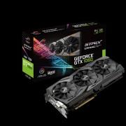 VGA Asus ROG-STRIX-GTX1060-A6G-GAMING, nVidia GeForce GTX 1060, 6GB, do 1759MHz, DP 2x, DVI-D, HDMI 2x, 36mj (90YV09Q3-M0NA00)