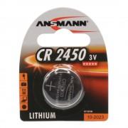 Pile bouton lithium CR2450 3 V - Ansmann