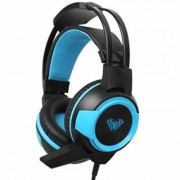 Слушалки aula g91s shax gaming headset с микрофон, high quality sound, sensitive microphone, auto-adjustable headband, 3.5мм жак, usb, черен, 176910