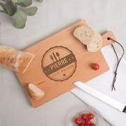 YourSurprise Planche à pain - Hêtre - Rectangulaire - Horizontal (M)