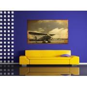 Grand canvas old vintage fighter plane - cod Z05