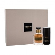 Valentino Valentino Uomo confezione regalo eau de toilette 50ml + deodorante 75 ml da uomo